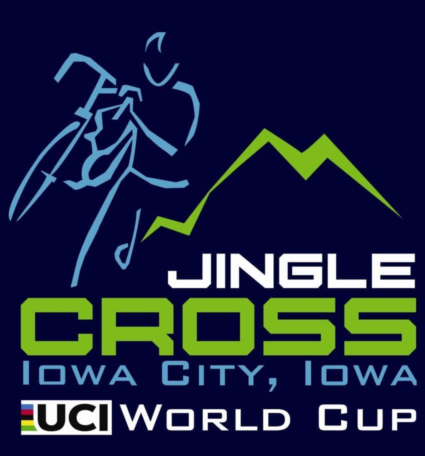 Logo UCI World Cup Iowa City & USCX Jingle Cross 2021 Cyclocross